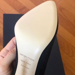 NEW. Sergio Rossi Pumps. Size 8.5. MSRP: 350
